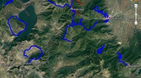 Oρειβατικές διαδρομές Φλώρινας σε GPS