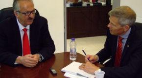 Συνάντηση του Δημάρχου Φλώρινας με τον  με τον Γενικό Πρόξενο της Ομοσπονδιακής Δημοκρατίας της Γερμανίας στη Θεσσαλονίκη