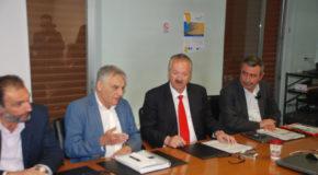 Συνάντηση του Προέδρου της ΠΕΔ και  Δημάρχου Φλώρινας με τον Γενικό Γραμματέα του Υπουργείου Εσωτερικών