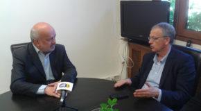 Επίσκεψη του Γενικού Γραμματέα  ΚΕ ΣΥΡΙΖΑ Πάνου Ρήγα στο Δημαρχείο Αμυνταίου