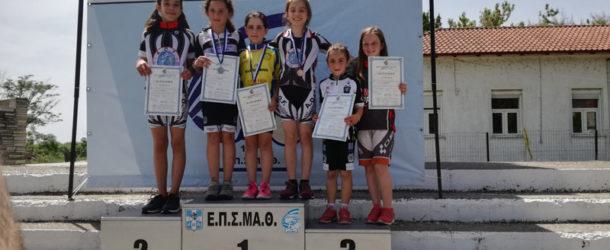 Μετάλλια για Ρόζα και Δούμτση στο Πρωτάθλημα Ατομικής Χρονομέτρησης  Ποδηλασίας  Δρόμου ΕΠΣΜΑΘ