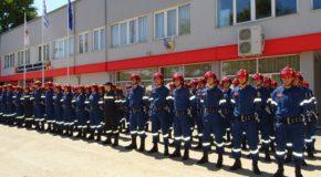 Τα εγκαίνια της Σχολής Πυροσβεστών στην Πτολεμαΐδα