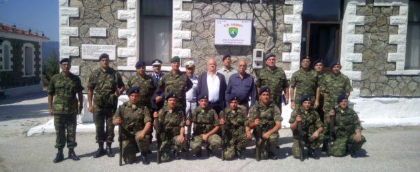 Ο Αναπληρωτής Υπουργός Εθνικής Άμυνας Δημήτρης Βίτσας επισκέφθηκε το Ελληνικό Φυλάκιο Λαιμού