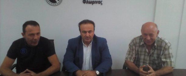 Συνάντηση του βουλευτή της Π.Ε Φλώρινας κ. Γιάννη Αντωνιάδη με τον κ. Σαπαλίδη Σάββα και τον κ. Σιάκο Κωνσταντίνο