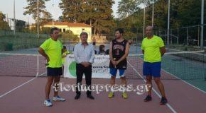 Ολοκληρώθηκαν με επιτυχία οι αγώνες του τουρνουά τέννις (φώτο + βίντεο)