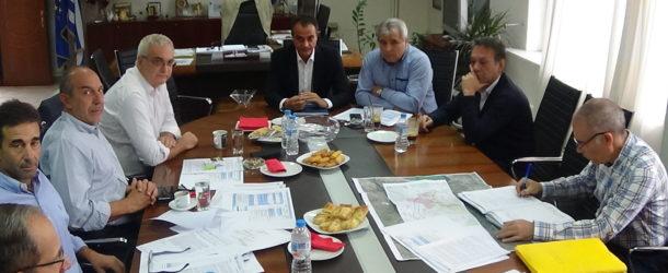 Συνάντηση με ΕΓΝΑΤΙΑ ΟΔΟΣ Α.Ε. για τον κάθετο άξονα και τα έργα στην Π.Ε. Φλώρινας