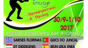 Ευρωπαϊκό Κύπελλο Γυναικών – ΣΑΡΙΣΕΣ Φλώρινας