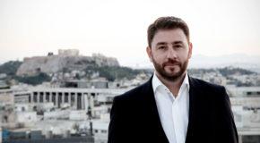 Ο Νίκος Ανδρουλάκης στην Φλώρινα
