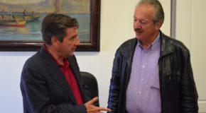 Συνάντηση του Δημάρχου Φλώρινας Γιάννη Βοσκόπουλου με το Δήμαρχο Αθηναίων Γιώργο Καμίνη