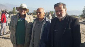 Επίσκεψη του Βουλευτή Φλώρινας Κώστα Σέλτσα στις αρχαιολογικές ανασκαφές της περιοχής του Αμυνταίου