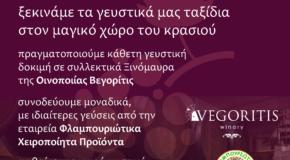 Έναρξη μαθημάτων και οινογευστικών δοκιμών στην Ακαδημία Οίνου Αριστοτέλη