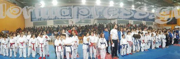 Με τεράστια επιτυχία ολοκληρώθηκαν οι αγώνες καράτε του κυπέλλου βορείου Ελλάδος