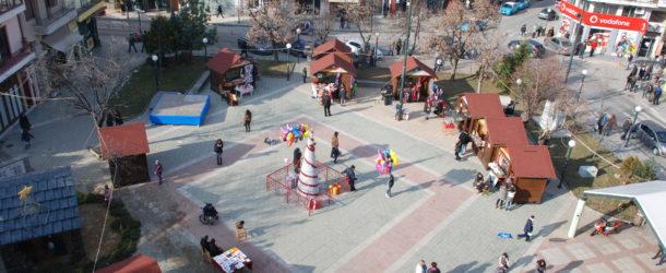 Από την Παρασκευή 15 Δεκεμβρίου 2017 θα λειτουργήσει στην πλατεία Γ. Μόδη το «Ξύλινο Χωριό»