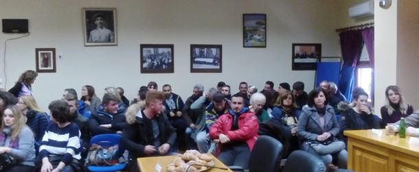 Κοπή βασιλόπιτας των αιρετών δημοτικών και τοπικών συμβούλων Δήμου Αμυνταίου