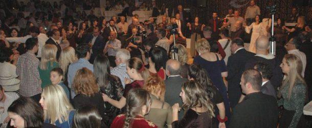Με μεγάλη επιτυχία πραγματοποιήθηκε ο ετήσιος χορός της Ευξείνου Λέσχης Φλώρινας την 1.1.2018